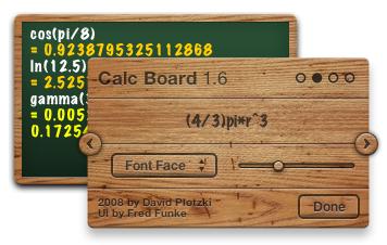 Calc Board Font Style Adaption